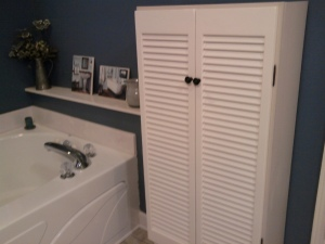 Master Bathroom with Chest