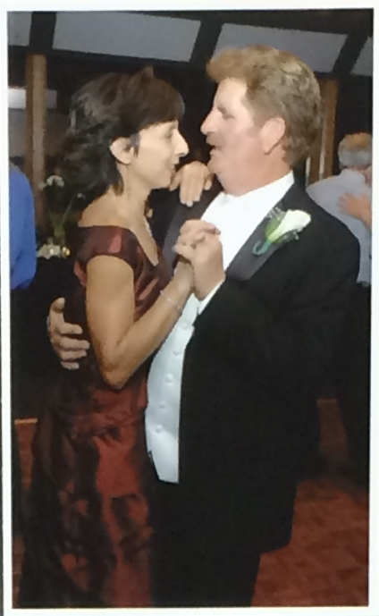 My Sister dancing with Hubby