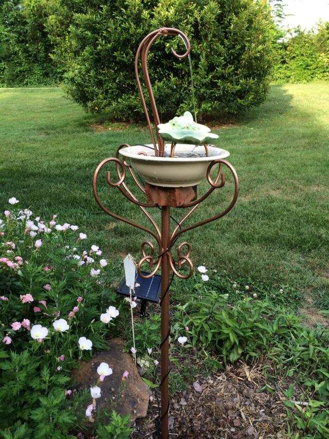 2014 Birdbath/Fountain
