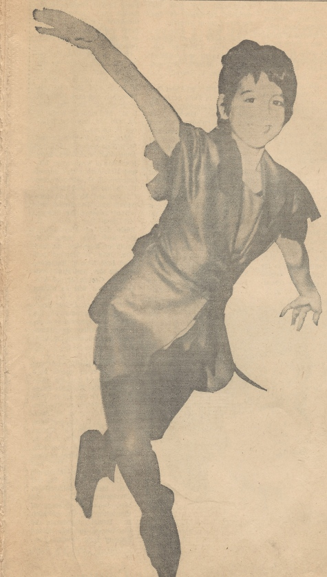 My Sister as Peter Pan circa 1968
